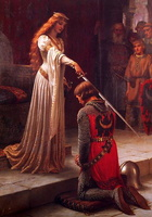The accolade of Leighton