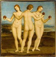 les Trois Grâces, de Raphaël