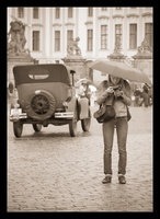 La photographe au parapluie