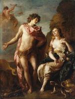Bacchus et Ariane,  C. de La Fosse 1699